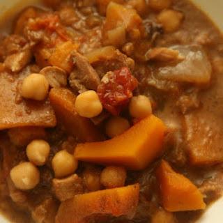 African Chicken Chickpea Peanut Stew