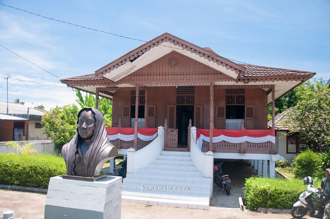 Rumah Ibu Fatmawati di Bengkulu.