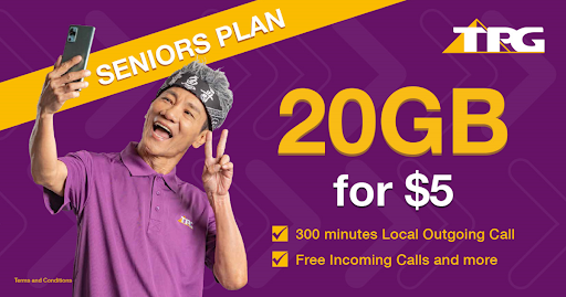 20GB for S$5: S'pore telco TPG extends its mobile plan for seniors to November 2024