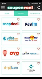 CouponRani Free Coupons & Deal screenshot 0
