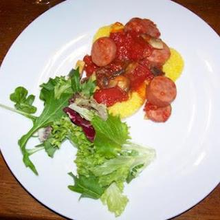Sausage and Polenta.