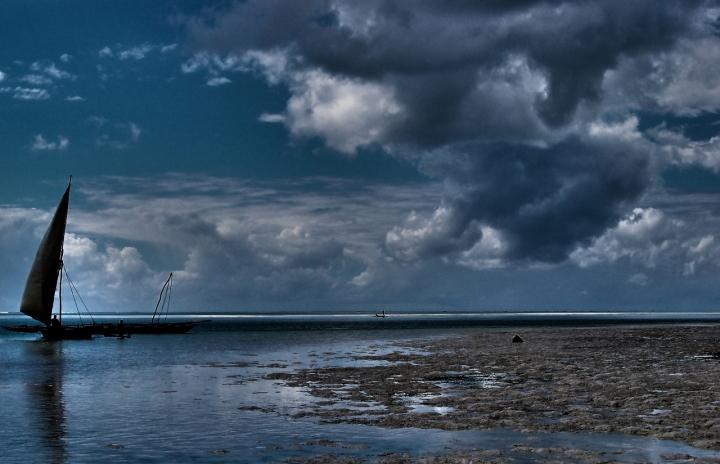 Spiaggia surreale di morganio
