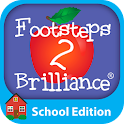 Footsteps2Brilliance™, Inc - Logo