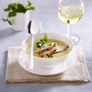 Corn Soup with Chicken.