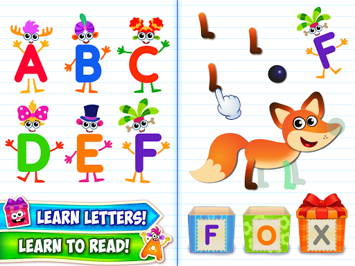 Baby ABC in box Kids alphabet games for toddlers android2mod screenshots 8