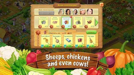Jane's Farm: Farming Game – Build your Village Apk Download For Android and Iphone 4
