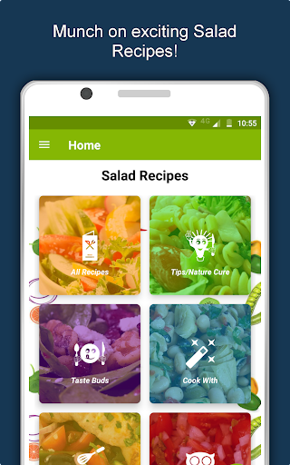 Salad Recipes: Healthy Foods with Nutrition & Tips 2.2.4 screenshots 10