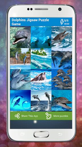 돌고래 직소 퍼즐 게임