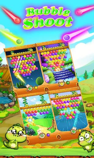 バブルのシューティングゲームの伝説