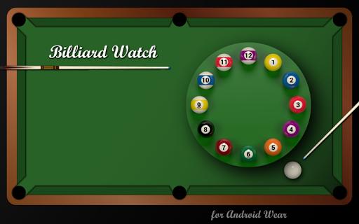 Billiard Watch Face