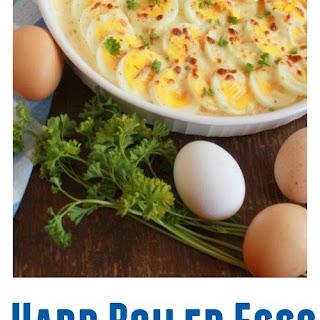 Hard Boiled Eggs Gratin.