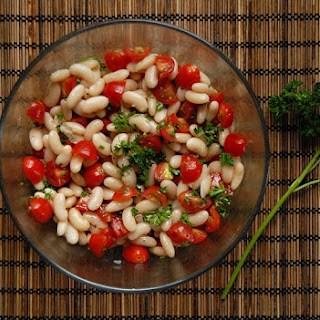 White Bean & Tomato Salad Recipe