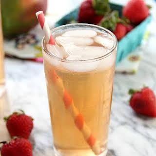 Strawberry Mango Iced Green Tea.