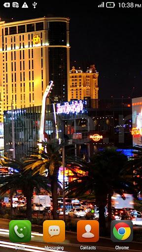 ... Las Vegas Night live wallpaper screenshot 2 ...