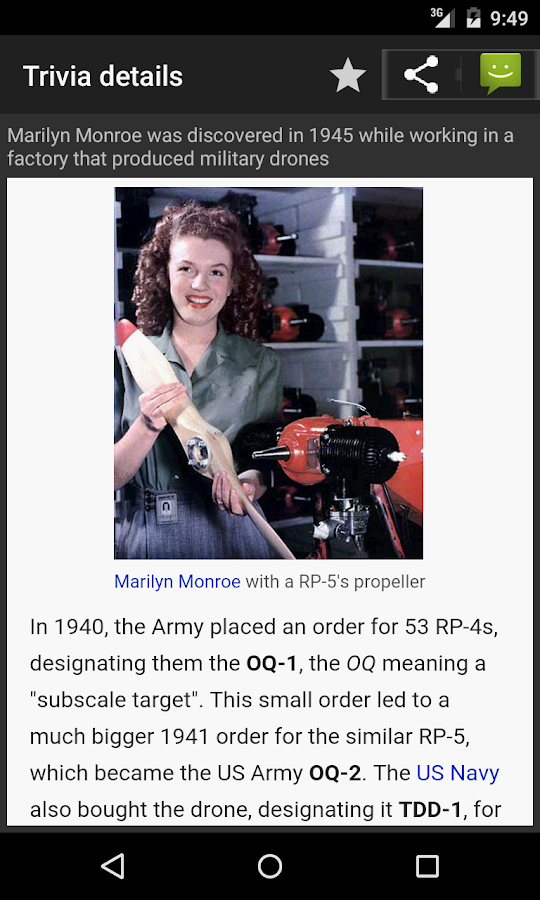 Trivia Buff - screenshot