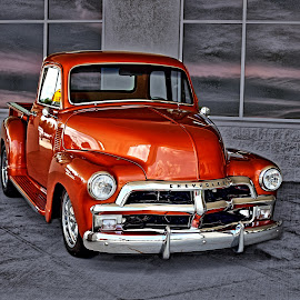 Custom Chevy Pickup by JEFFREY LORBER - Transportation Automobiles ( jeffrey lorber, chevrolet, pickup truck, vintage, truck, rust 'n chromer, lorberphoto )