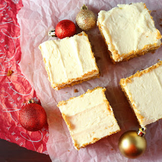 Gingerbread Cheesecake Squares.