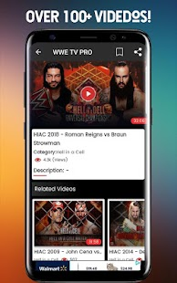 Watch WWE TV Pro Screenshot