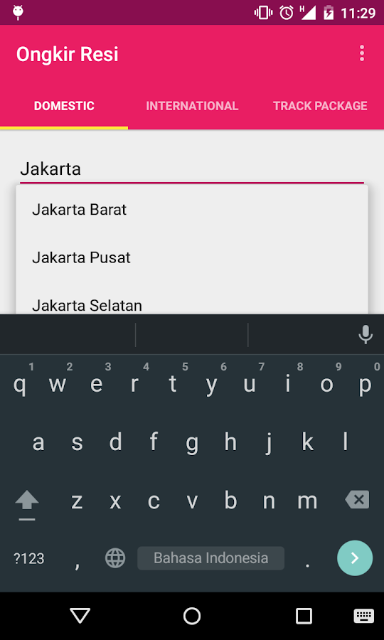 Ongkir Resi Android Apps On Google Play