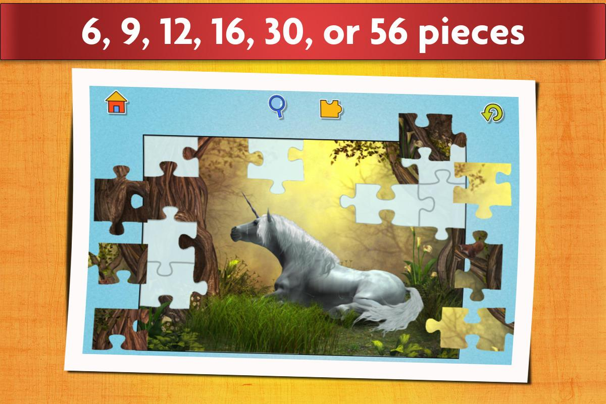 Unicorns Puzzle Game for Kids- screenshot