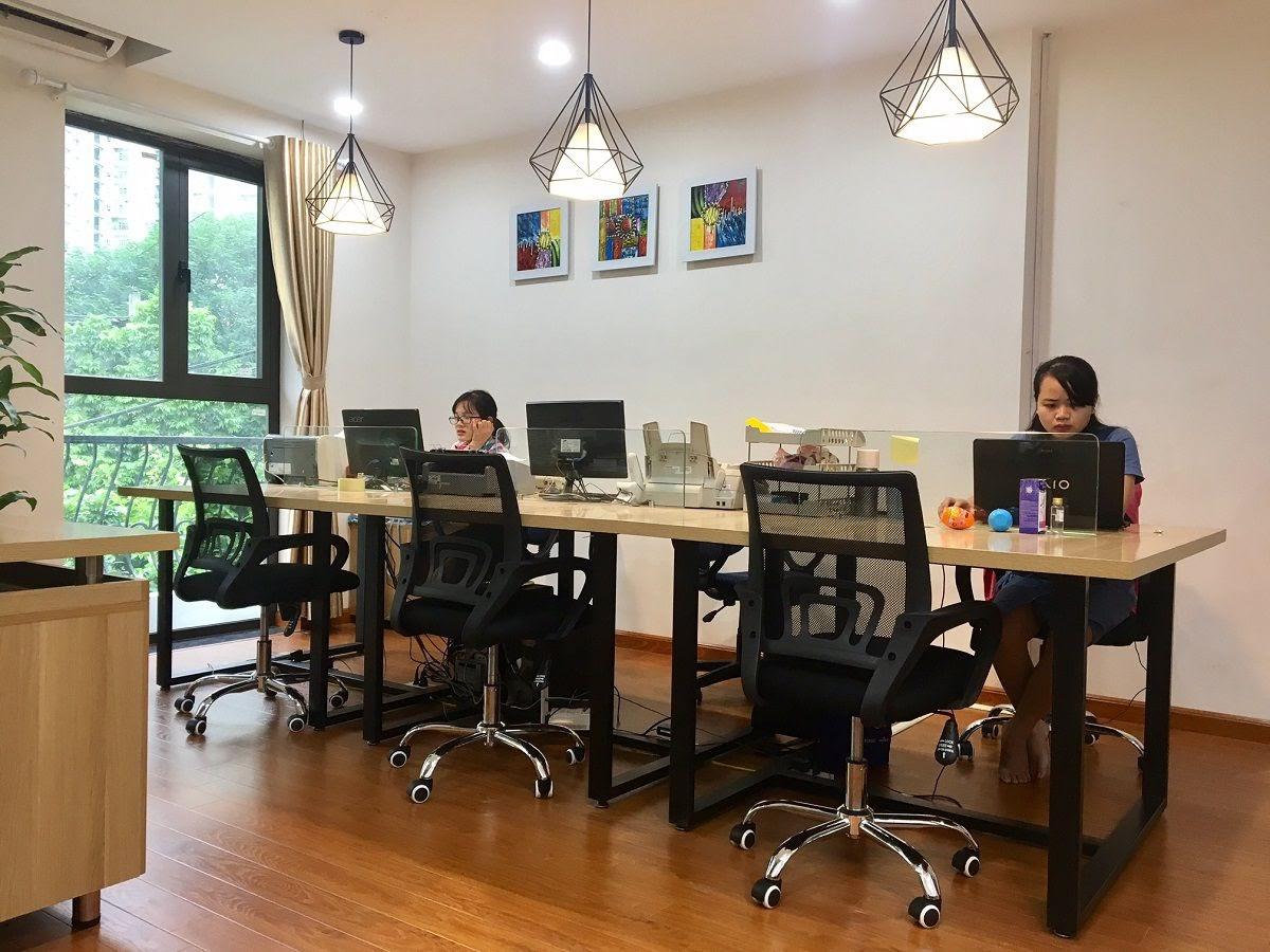thiết kế văn phòng công ty trẻ trung đẹp