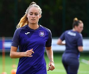 Premier match de Tessa Wullaert avec Anderlecht, première victoire