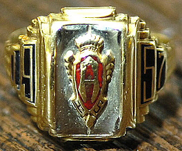 Photo: Jim Chilton's Class Ring