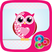 Hearts Owls GO Launcher Theme