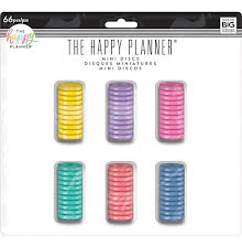 Me & My Big Ideas MINI Happy Planner Disc Value Pack 66/Pkg - Multi Color