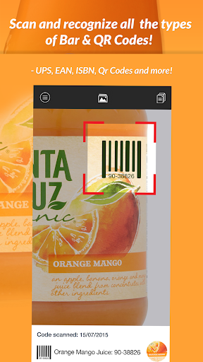 QR Scanner & Barcode reader 1.0.1 screenshots 1