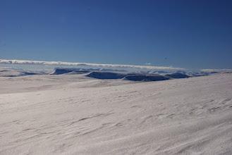 Kuva: Lasku kohti Saarijärveä upeassa kelissä. Teräshanki ja sen päällä uutta lunta 10 - 20mm. Lumessa kimalsi miljoonat timantit