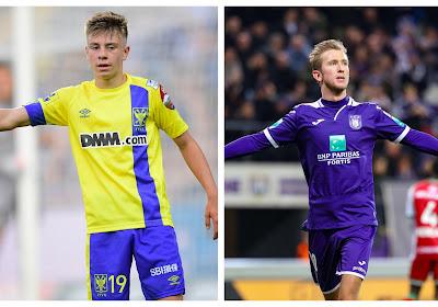 Stan Van Dessel klopte met Sint-Truiden Anderlecht en MIchel Vlap