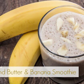 Almond Butter and Banana Smoothie - Gluten Free!