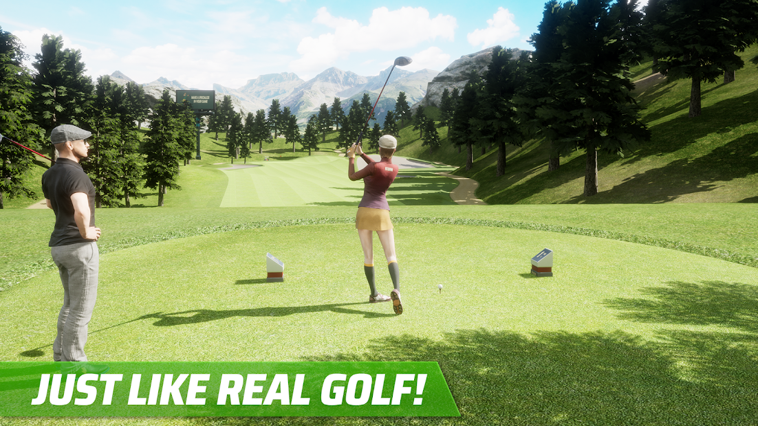 Golf King - World Tour Android App Screenshot