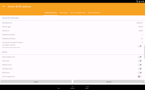 Aplisens Mobile Configurator- screenshot thumbnail