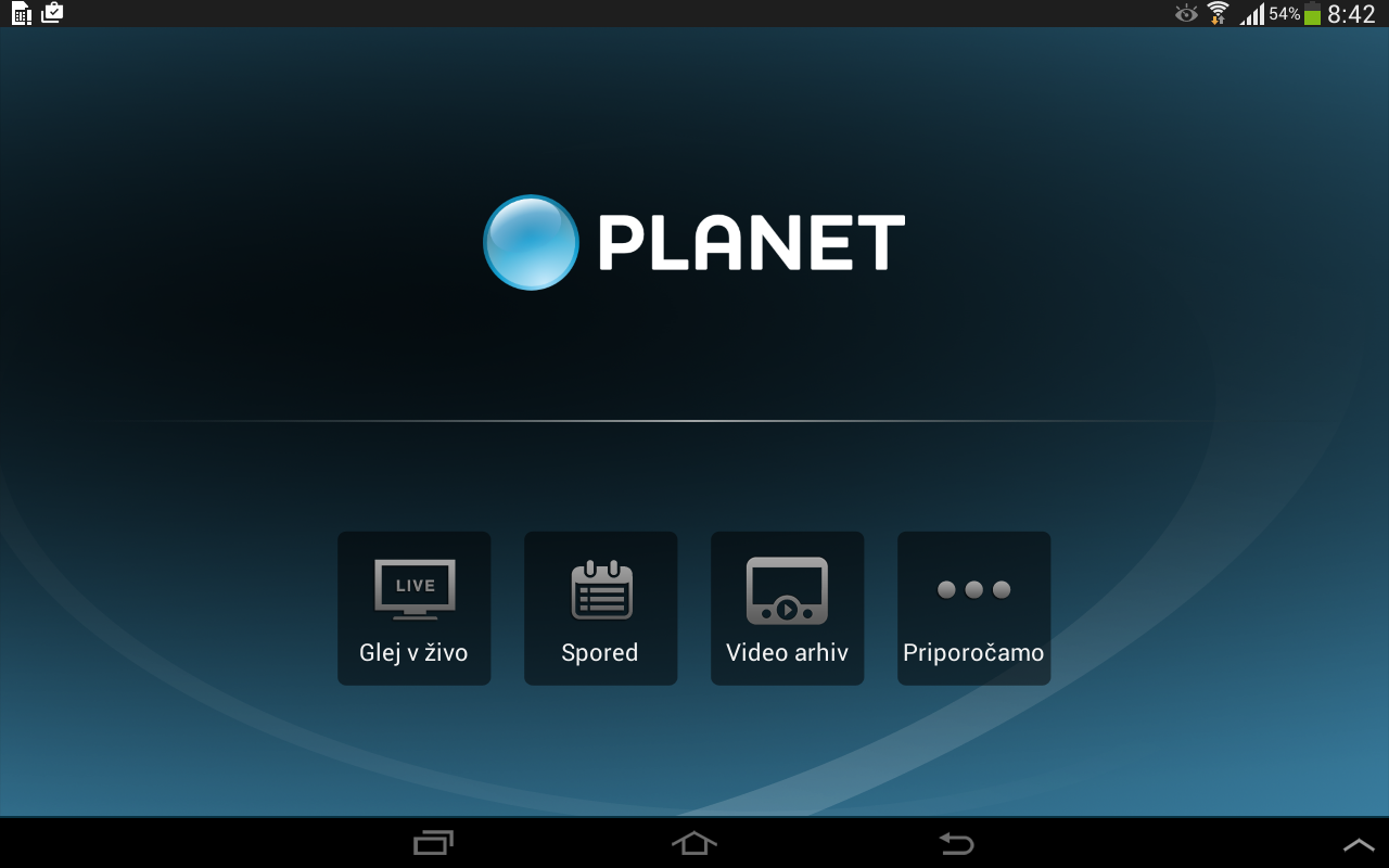 Planet Televizija- screenshot