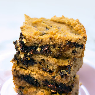 Coconut Flour Chocolate Cookie Bars