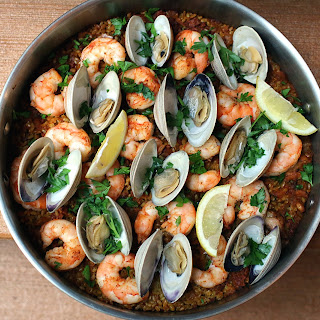Seafood Brown Rice Paella Recipes