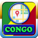 Congo Maps And Direction icon