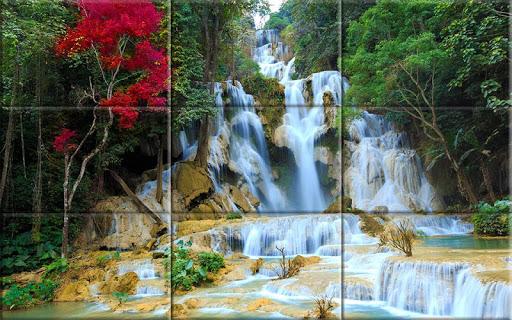 Puzzle - Amazing waterfalls apktram screenshots 4