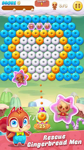 Bubble Shooter Cookie apkpoly screenshots 2