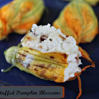 Cheese Stuffed Pumpkin Blossoms