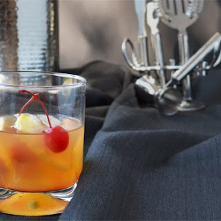 An Old Fashioned Apple Cocktail