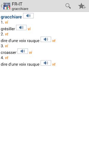 FrenchItalian Gem Dictionary