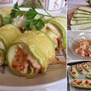 Courgette Super Rolls With Chicken