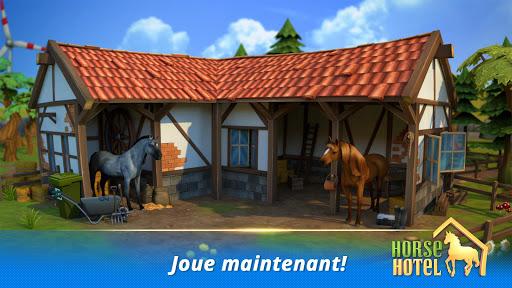 Code Triche Horse Hotel - Jeu et prends soin des chevaux ud83dudc0e APK MOD screenshots 1