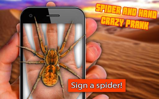 Spider Hand: Crazy Prank