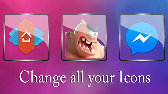 Glass  NOVA/APEX/ADW Icon Pack Screenshot