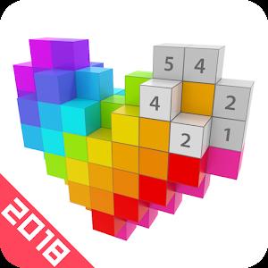 Voxel Coloring - 3D Coloring & 3D Pixel Art 2018