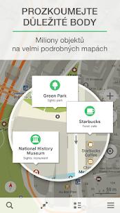 MAPS.ME – mapy a GPS navigate - náhled